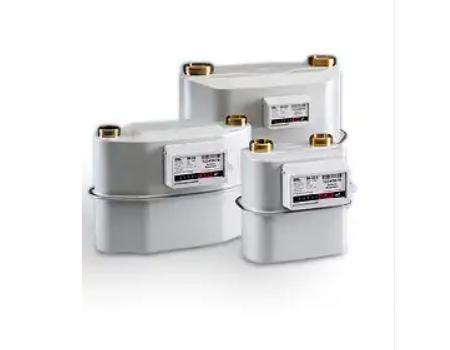 Háztartási membrános gázmérők